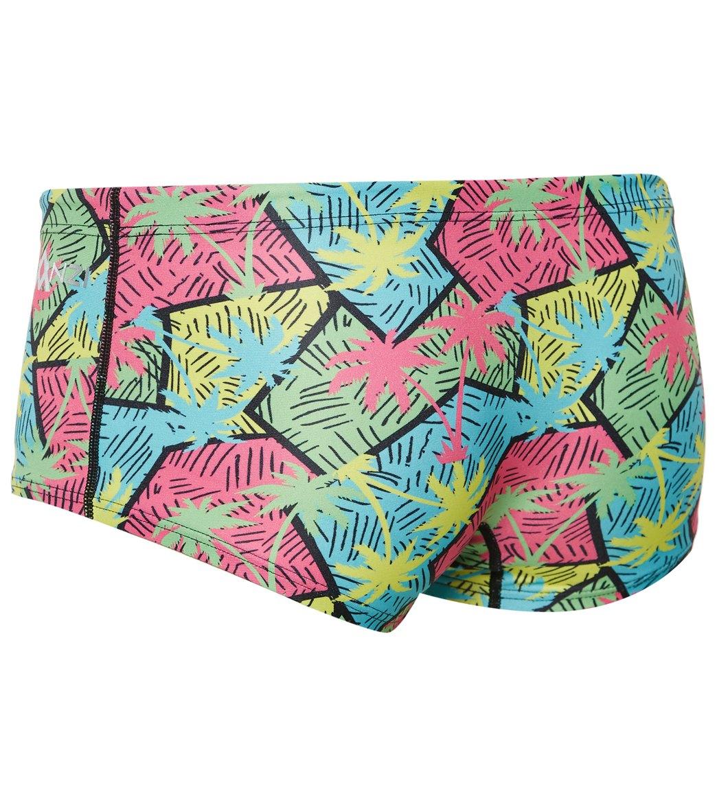 65cfe5147d Amanzi Men's Jamaican Me Crazy Square Leg Swimsuit at SwimOutlet.com