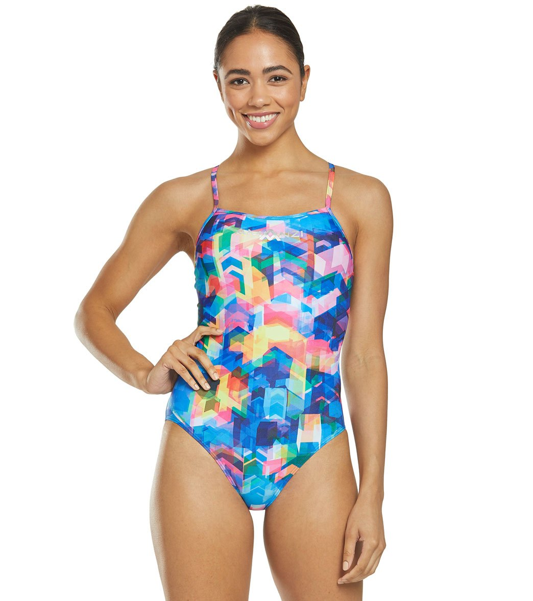 4f6fe4a7e Amanzi Women's Free Flow One Piece Swimsuit at SwimOutlet.com - Free  Shipping