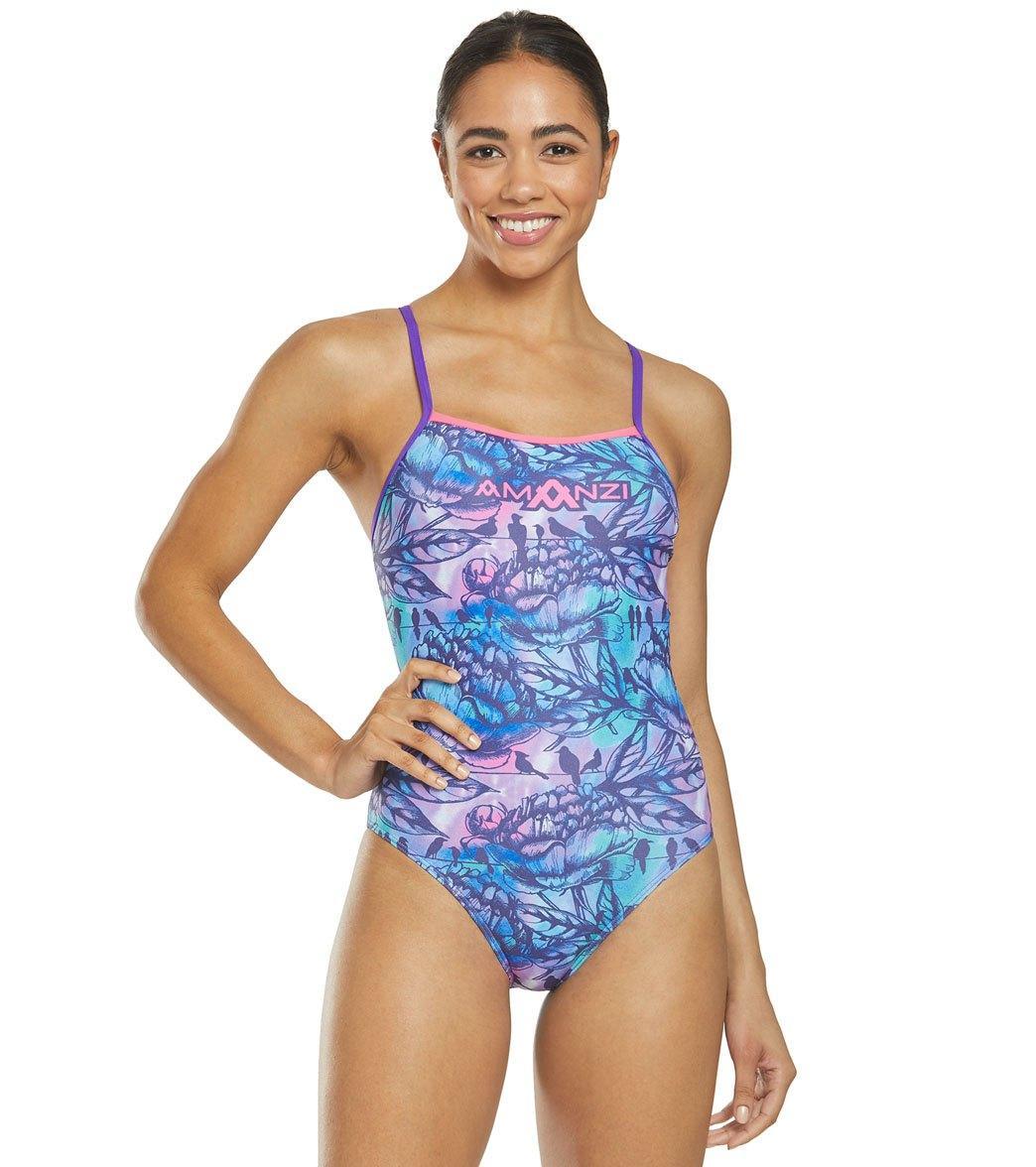 Amanzi Women's Leilani One Piece Swimsuit -