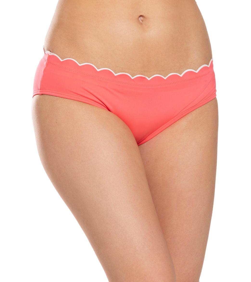 Kate Spade New York Scallop Wave Hipster Bikini Bottom