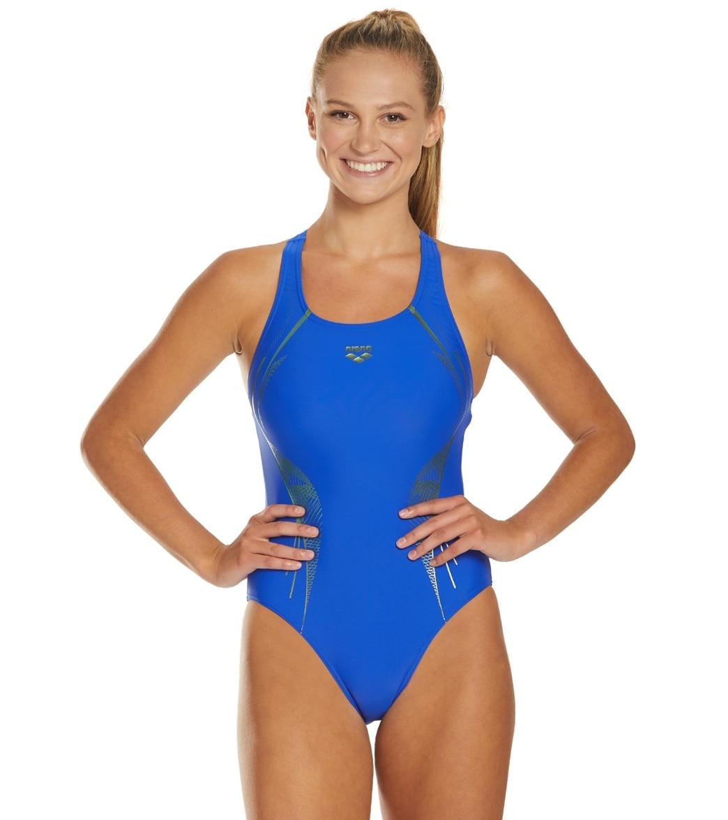 Arena Women's Slinky V Back One Piece Swimsuit