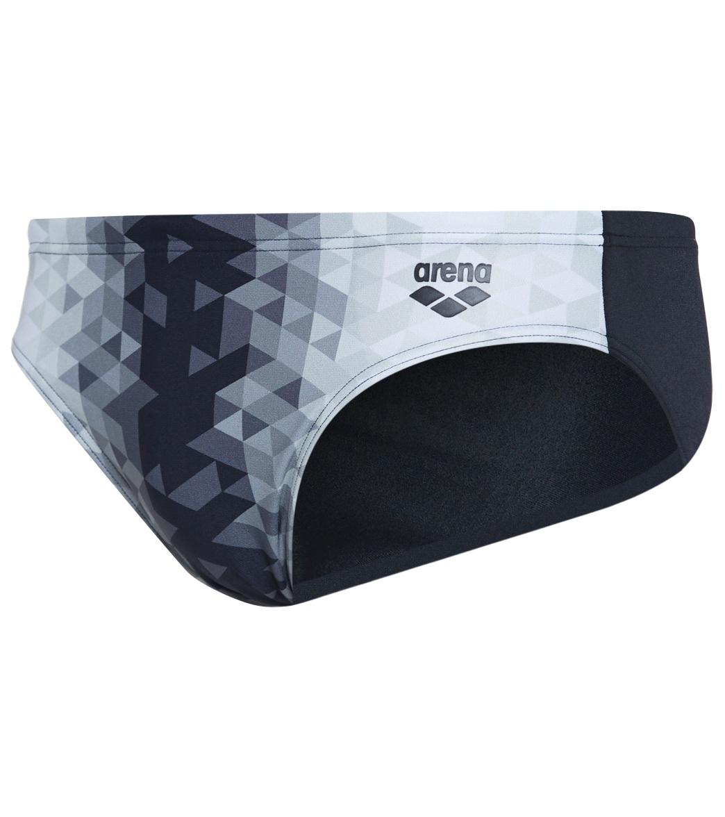 ARENA Triangle Prism MaxLife Brief Swimsuit Black 34 Black Multicolor