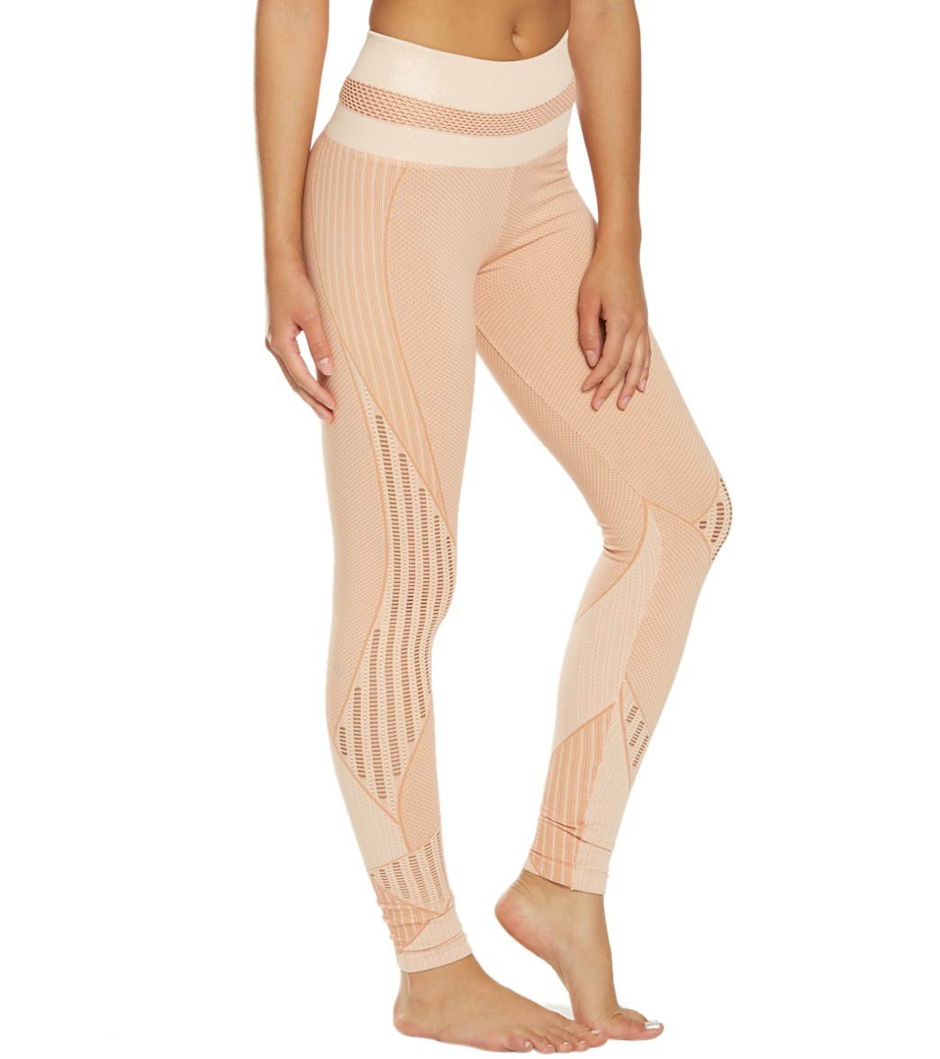 7b5b14a79ddb2 NUX Get Shredded High Waisted Seamless Yoga Leggings at SwimOutlet ...