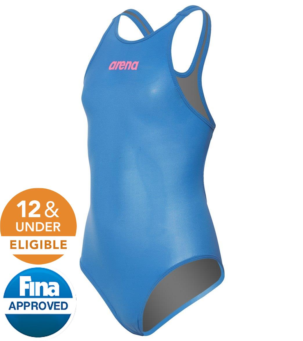 Arena Girls' Powerskin R-EVO Classic Tech Suit Swimsuit