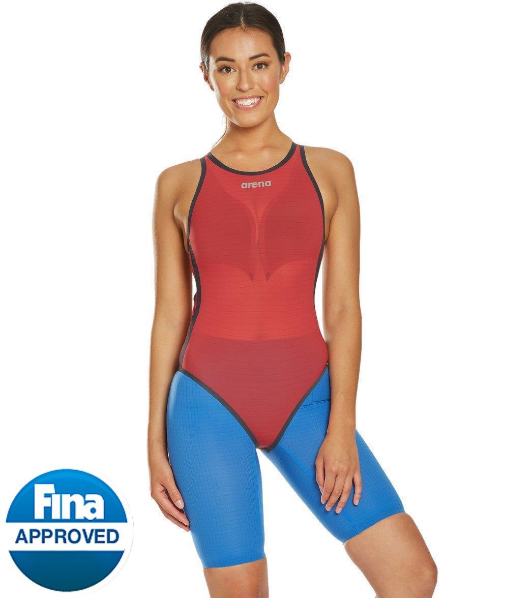 Arena Women's Powerskin Carbon Duo Tech Suit Swimsuit Top