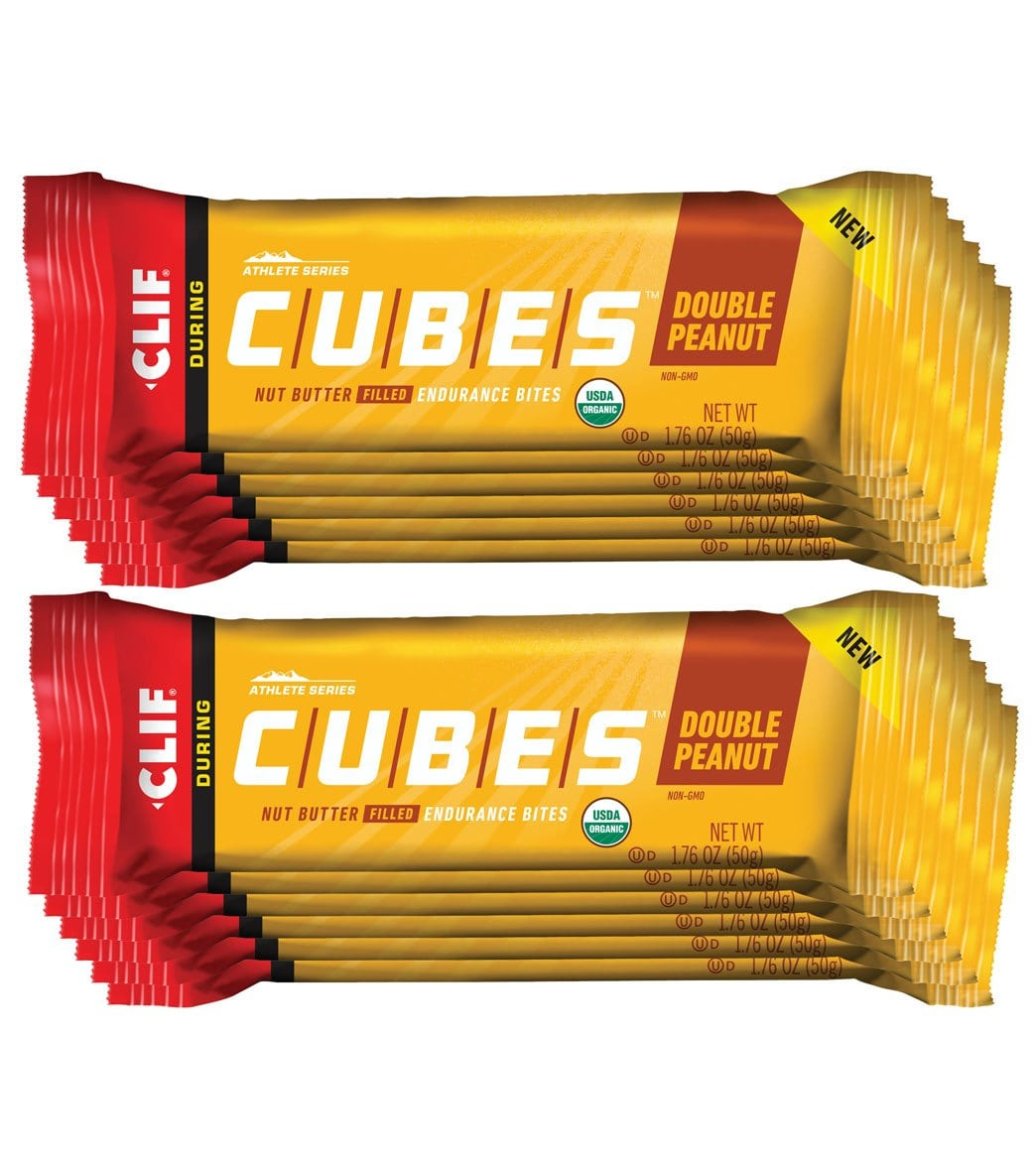Clifbar Clif Cube Endurance Bites Endurance & Energy Bars, Drinks & Pills Health & Beauty