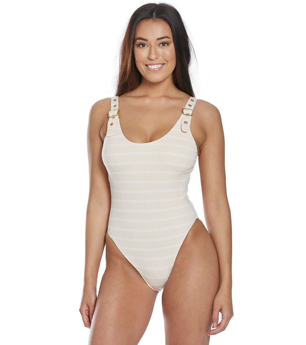 ed15085fb1 BCBG Generation One Of The Boys One Piece Swimsuit at SwimOutlet.com - Free  Shipping