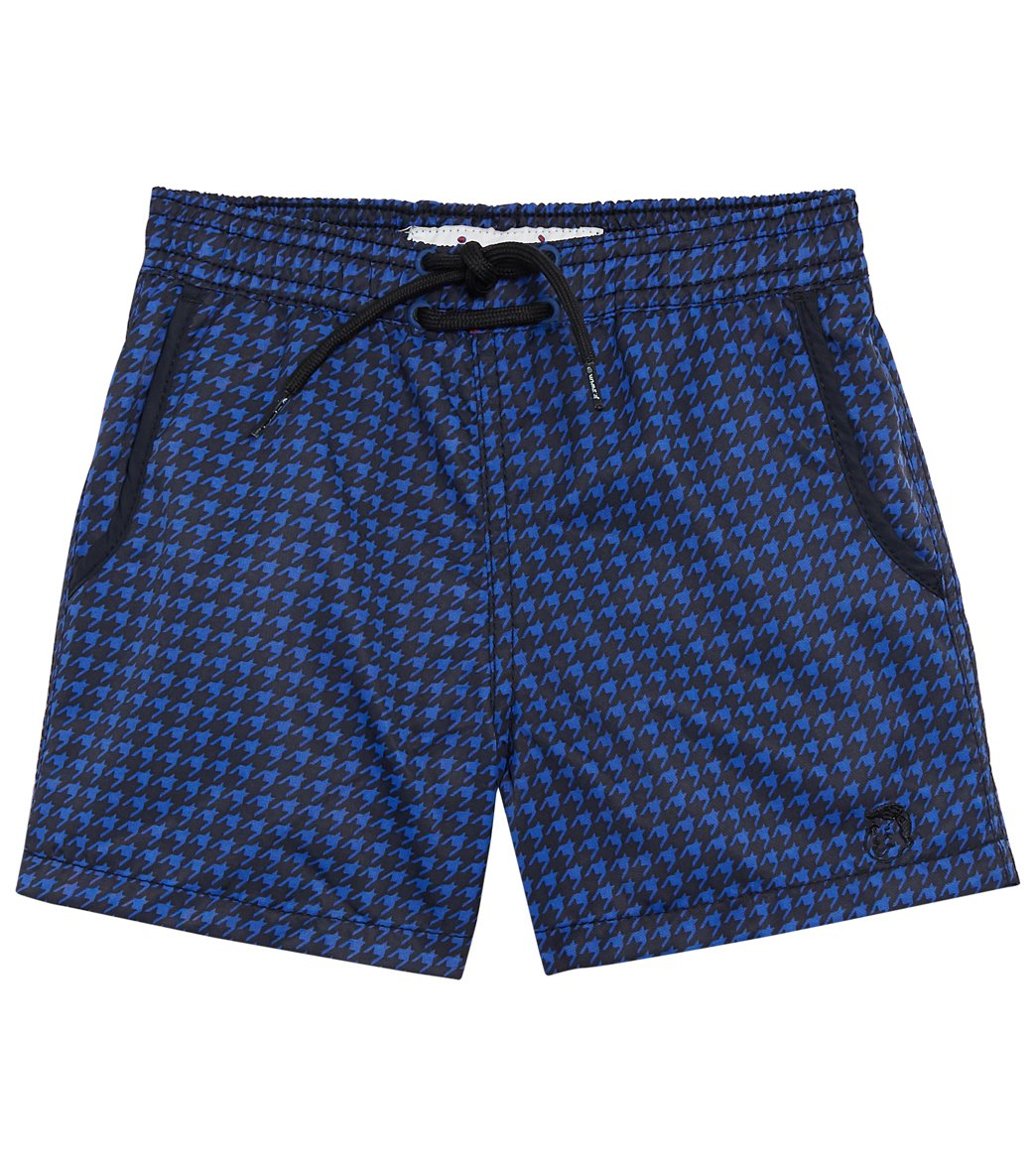 c5eb102406 Mr.Swim Boys' Houndstooth Swim Trunk (Toddler, Little Kid, Big Kid ...