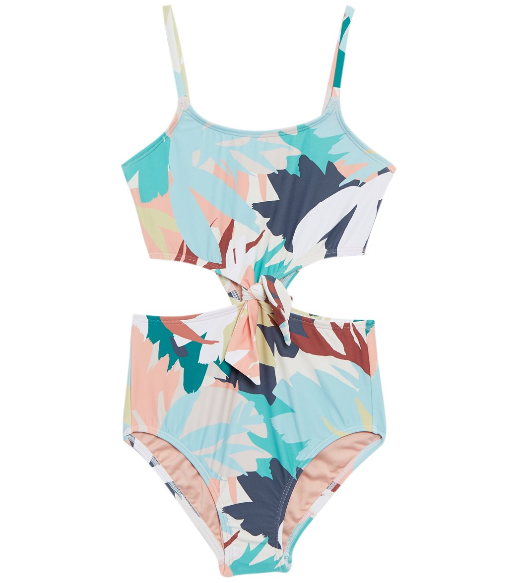 4461a1880b86 O'Neill Girls' Atlas Knot One Piece Swimsuit (Little Kid, Big Kid) at  SwimOutlet.com - Free Shipping