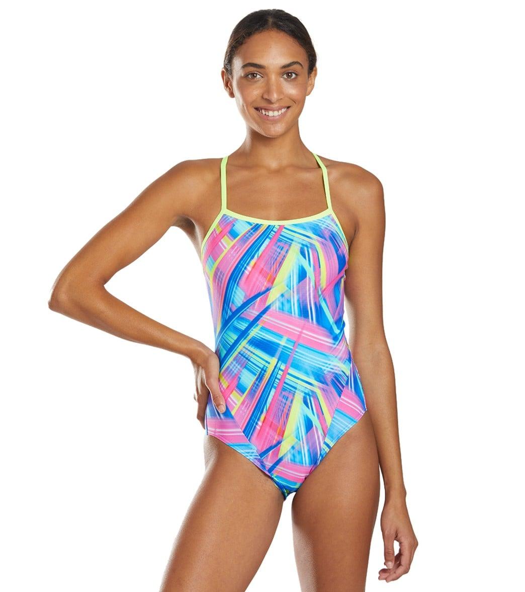 Girls Swimsuit Funkita Girls Frickin Laser Single Strap One Piece Swimwear