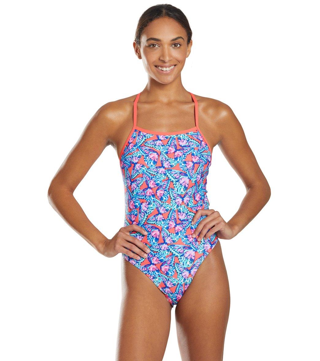 Funkita Women's Fly Free Tie Me Tight One Piece Swimsuit -
