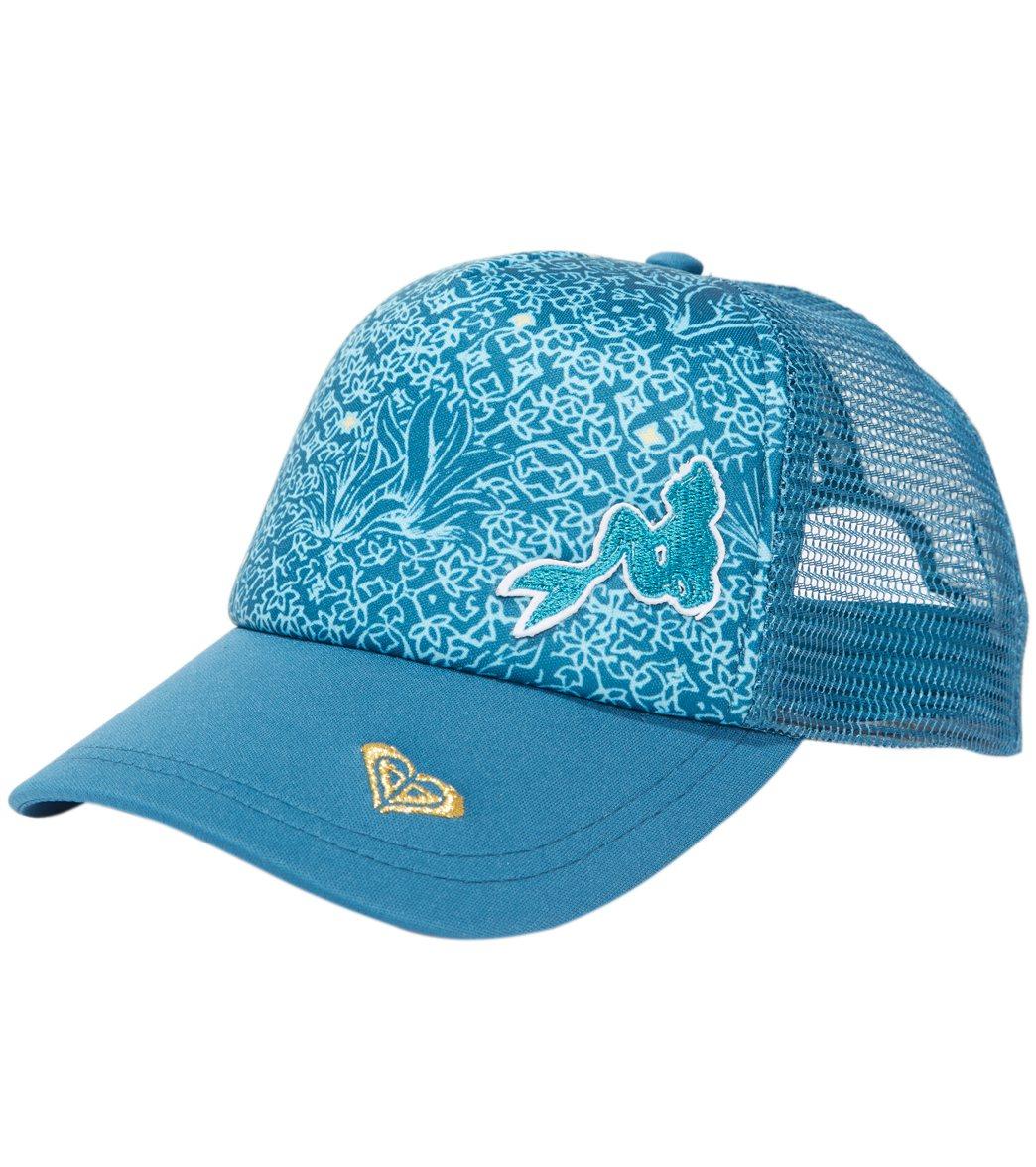 f40eed94d Disney x Roxy Girls' Reggae Town Trucker Hat