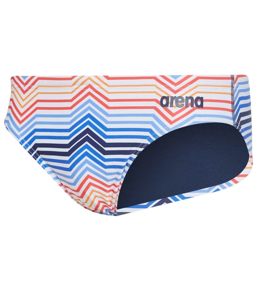 Arena Mens USA MaxLife Brief Swimsuit