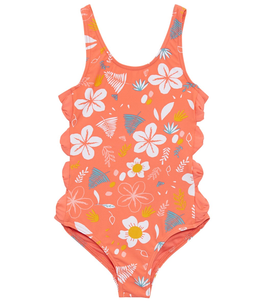 Roxy Girls Little Come on Board One Piece Swimsuit