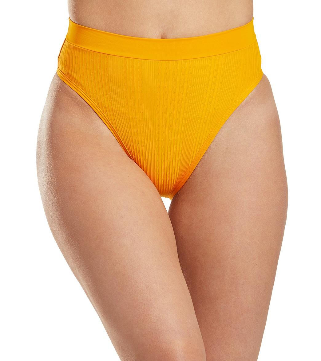 L-Space Pointelle Rib Frenchi Bikini Bottom