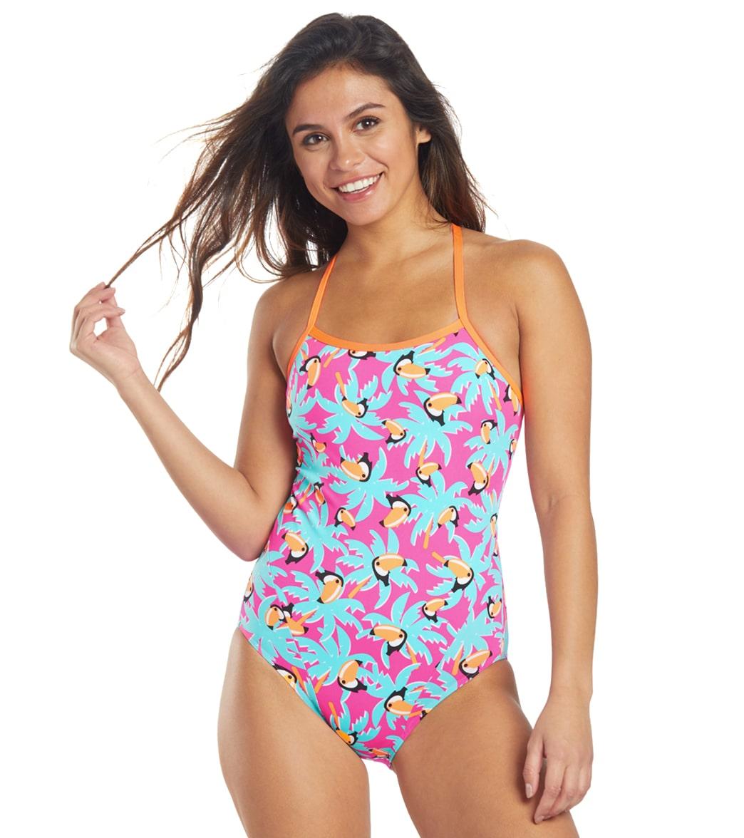 Funkita Women's Toucan Tango Eco Single Strap One Piece Swimsuit