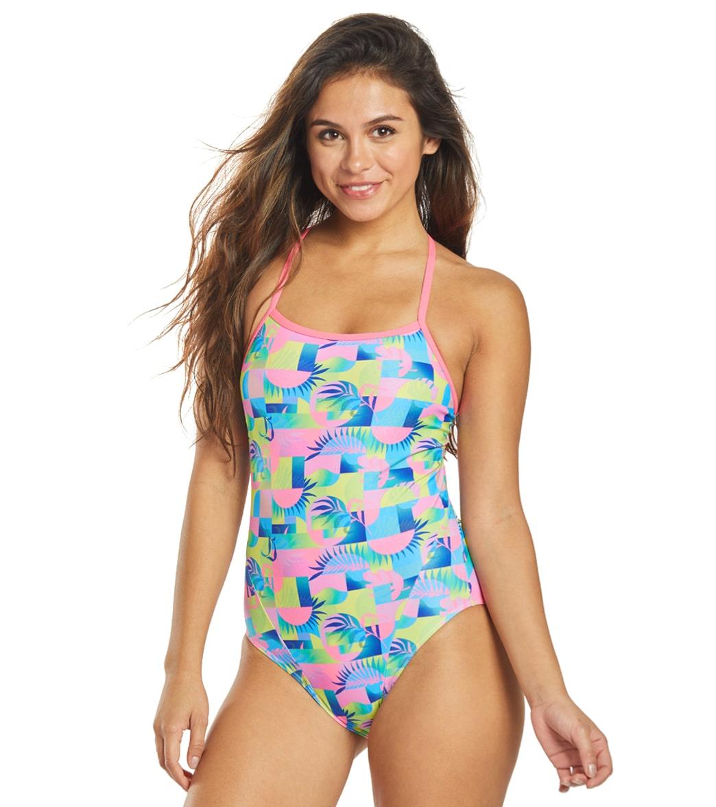 Funkita Women's Sunkissed Single Strap One Piece Swimsuit
