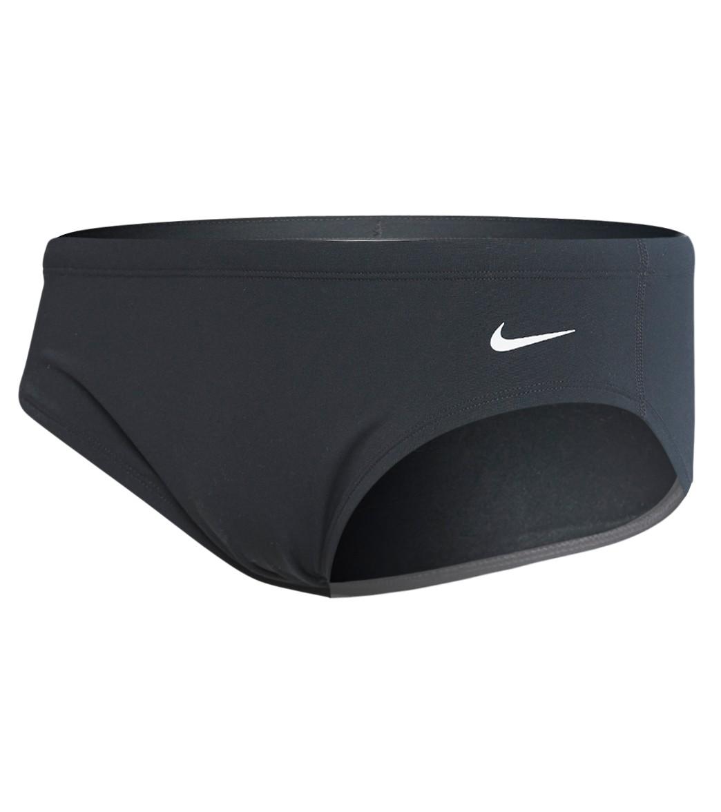 Prima caloría Espectador  Nike Men's HydraStrong Solid Brief Swimsuit at SwimOutlet.com
