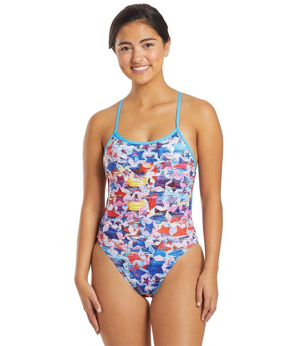 Maru Swim Women's Lucky Star Pacer Jay Back One Piece Swimsuit