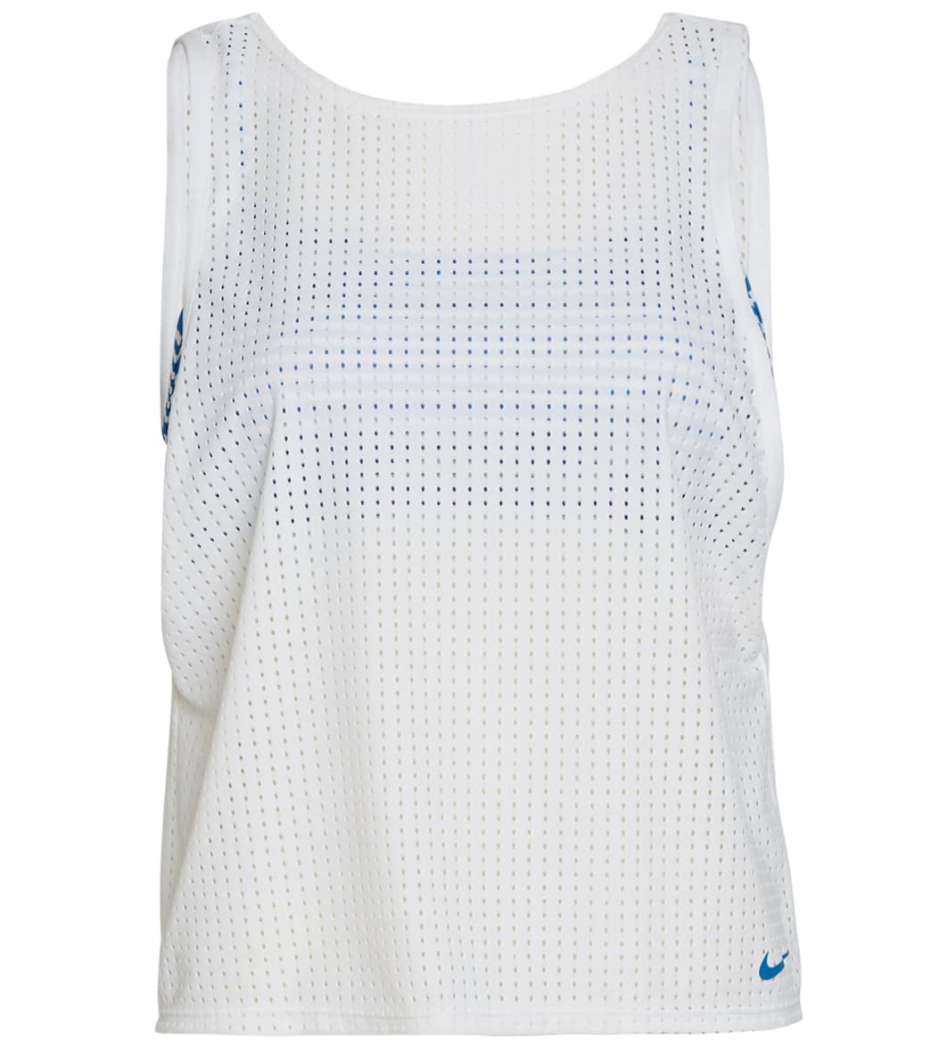 Nike Sport Mesh Convertible Layered Tankini Top