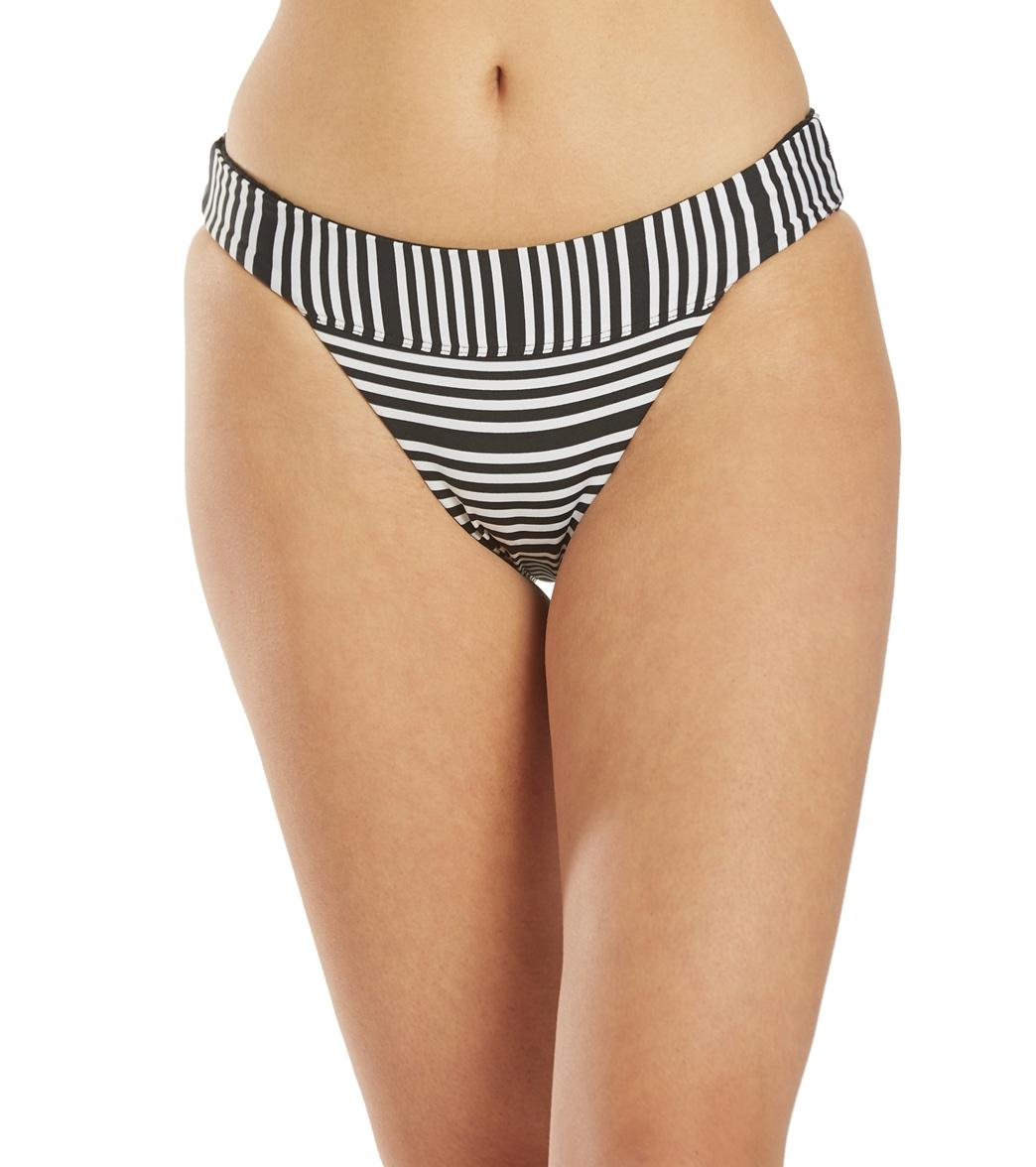 Nike Sport Mesh Reversible Banded Bikini Bottom