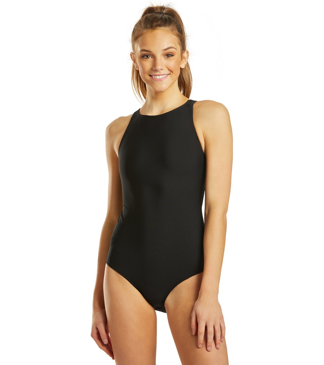 Finis Women's Bladeback Solid One Piece Swimsuit