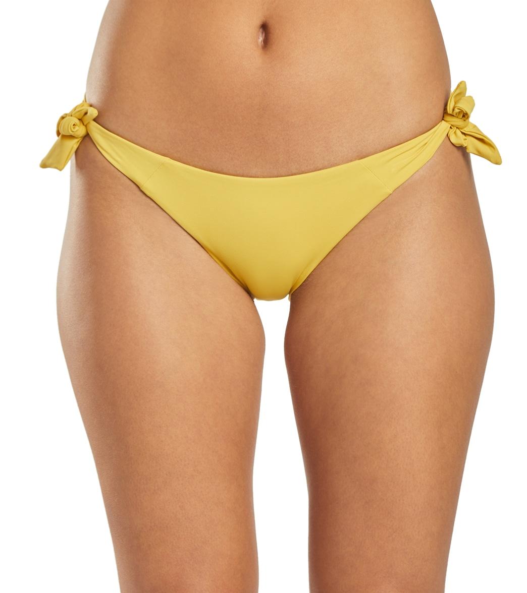 Volcom Simply Seam Tie Side Bikini Bottom