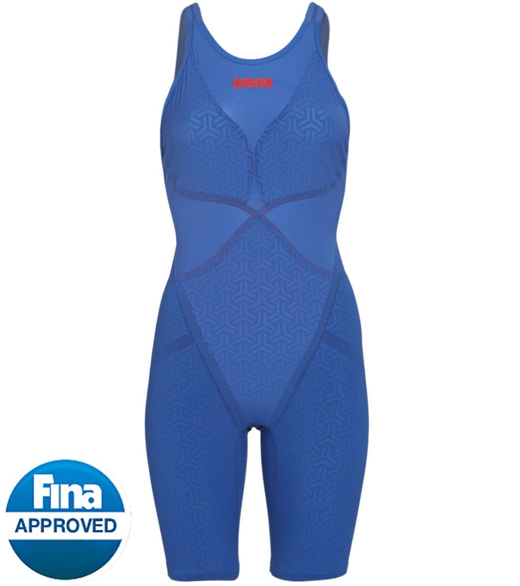 Arena Women's Powerskin Carbon Glide Closed Back Tech Suit Swimsuit