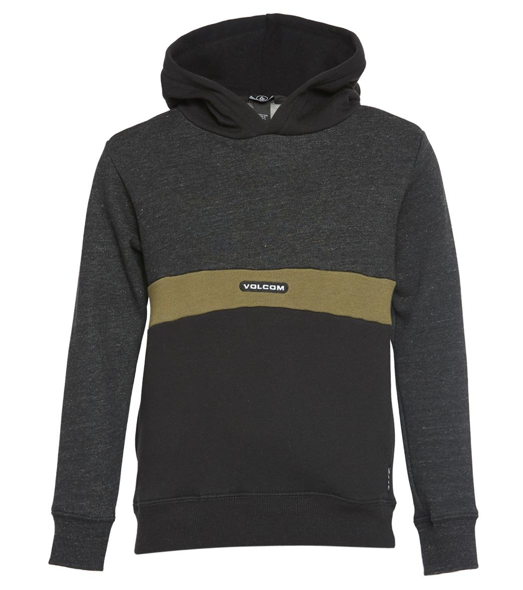 Volcom Big Boys Single Stone Division Pullover Hooded Fleece Swearshirt