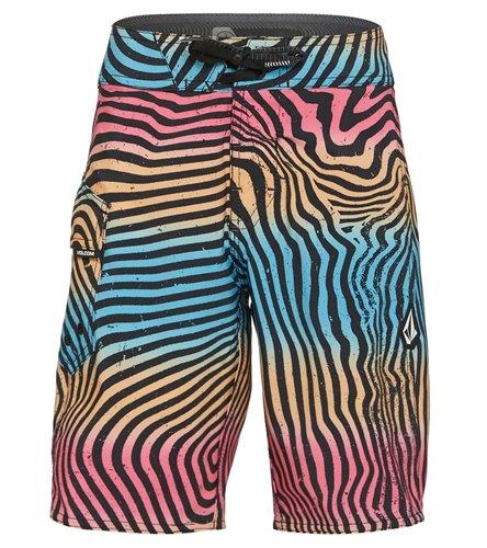 Volcom Boys Filbert Stripe Mod Boardshort