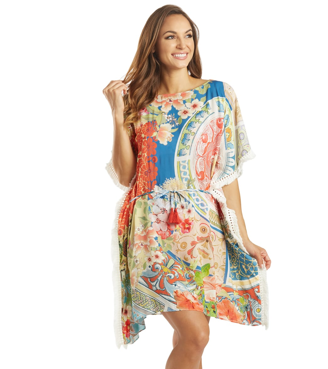 Johnny Was Women's Boho Cover Up Tunic