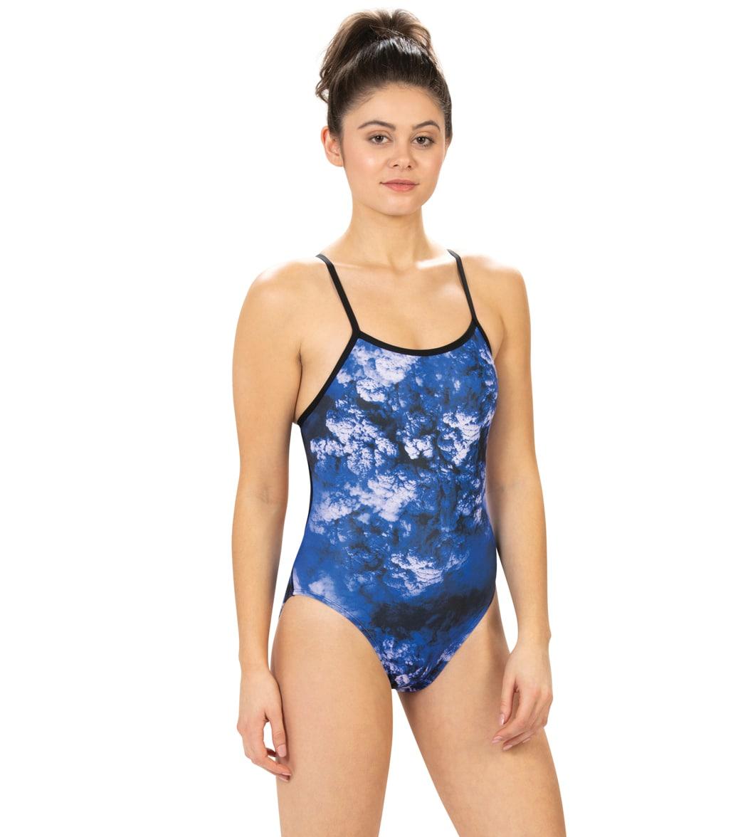 Dolfin Women's Reliance Cyclone String Back One Piece Swimsuit