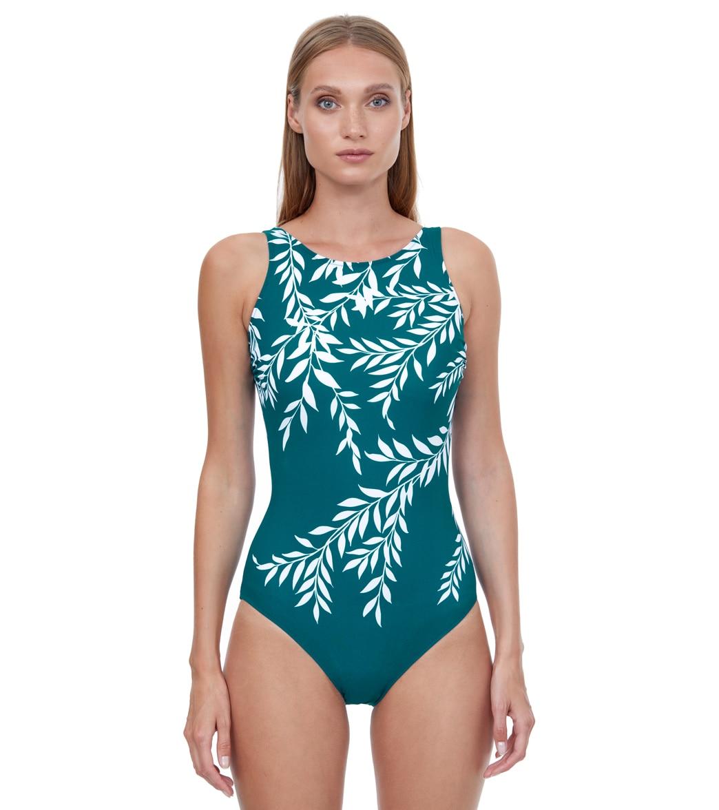 Gottex Women's Portofino Mastectomy High Neck One Piece Swimsuit