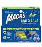 Mack's Ear Seals Ear Plugs
