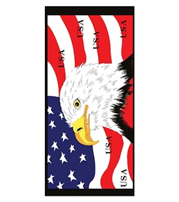 Wet Products American Flag Towel