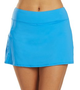Beach House Solid Emma Swim Skort