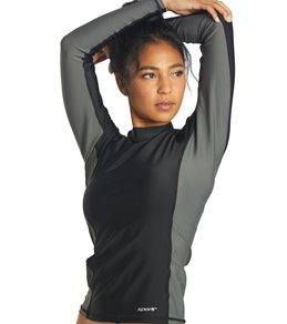 Sporti Women's L/S UPF 50+ Sport Fit Rash Guard