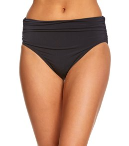 Magicsuit by Miraclesuit Solid Jersey Shirred Bikini Bottom