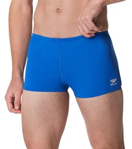 Speedo Men's Solid Endurance+ Square Leg Swimsuit