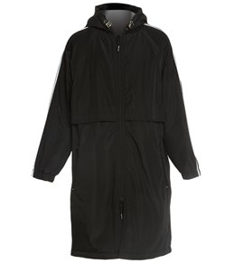 Sporti Striped Comfort Fleece-Lined Swim Parka Youth