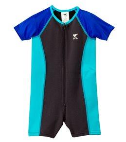TYR Boys' UPF 50+ Short Sleeve Thermal Suit (Toddler, Little Kid)
