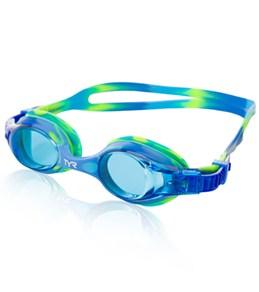 TYR Kids' Swimple Tie Dye Goggle - Pink/Blue