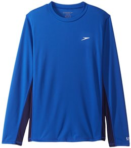 Speedo Men's Longview Long Sleeve Swim Shirt
