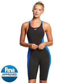 0aa07a0070c Speedo Women s Powerplus Kneeskin Tech Suit Swimsuit