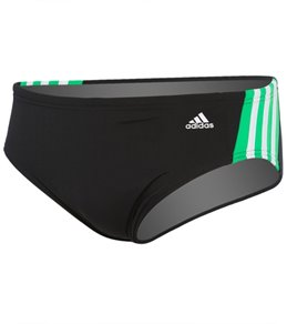 Adidas Solid Splice Brief Swimsuit