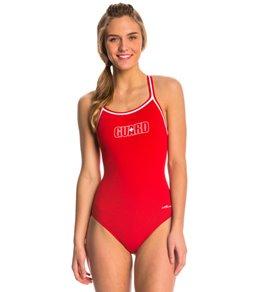 01b19085af73 Dolfin Lifeguard DBX Back One Piece Swimsuit
