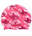 Jaked Funny Shark Junior Silicone Swim Cap