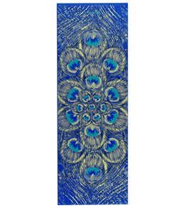 Gaiam Sapphire Feather Printed Yoga Mat 68