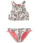 Roxy Girls' California Diary Crop Top Bikini Set (7-16)