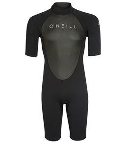 O'Neill Men's 2MM Reactor II Back Zip Short Sleeve Spring Suit